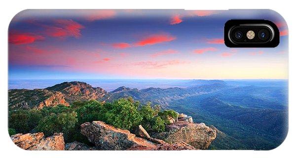 St Mary Peak Sunrise IPhone Case