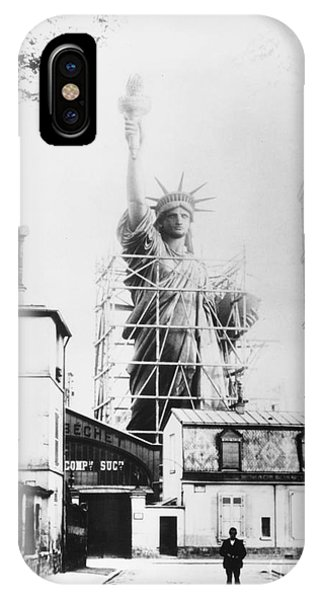 Statue Of Liberty, Paris IPhone Case
