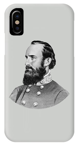 Again iPhone Case - Stonewall Jackson - Six by War Is Hell Store