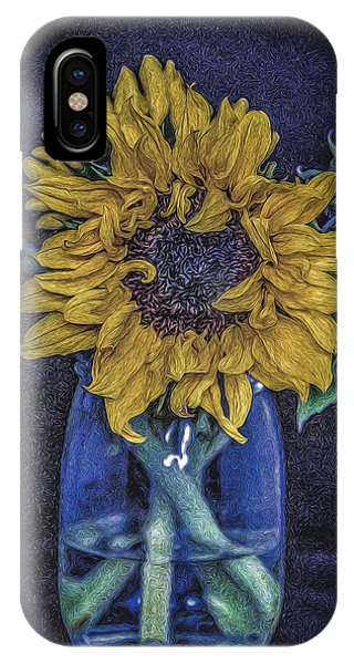 Sunflower Phone Case by Angela Aird