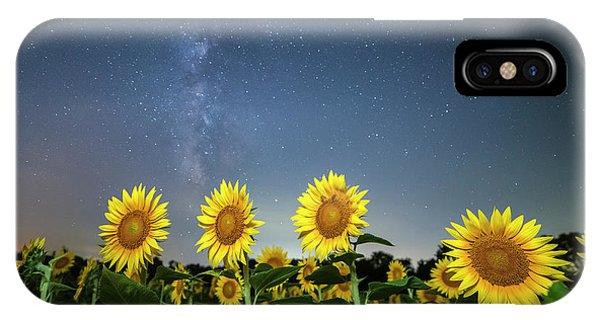 Sunflower Galaxy Iv IPhone Case