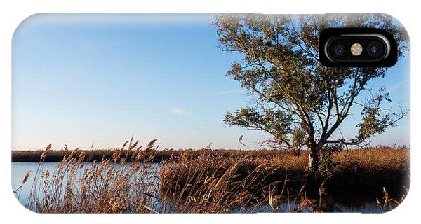 Sunrise In The Ditch Burlamacca IPhone Case