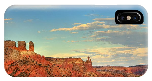 Sunset At Ghost Ranch IPhone Case