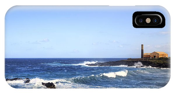 Canary iPhone Case - Tenerife - Garachico  by Joana Kruse