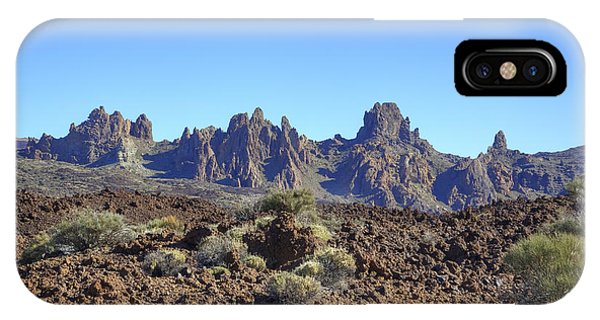 Canary iPhone Case - Tenerife - Mount Teide by Joana Kruse