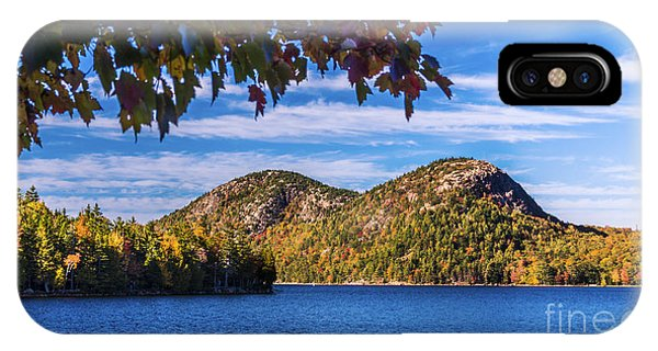 The Bubbles And Jordan Pond. IPhone Case