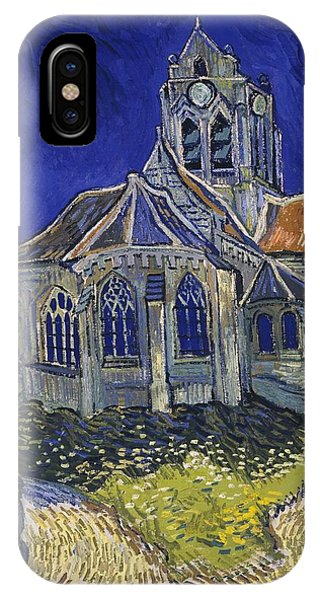 The Church At Auvers IPhone Case