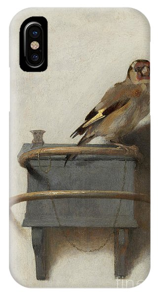 Avian iPhone Case - The Goldfinch by Carel Fabritius