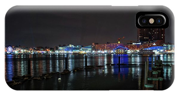 IPhone Case featuring the photograph The Harbor View by Mark Dodd