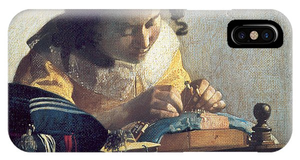The Lacemaker IPhone Case