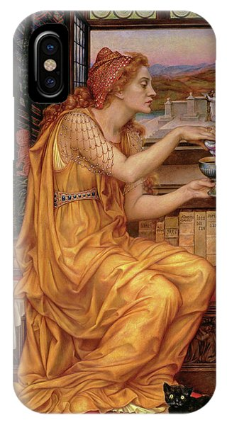 Potion iPhone Case -  The Love Potion  by Evelyn De Morgan