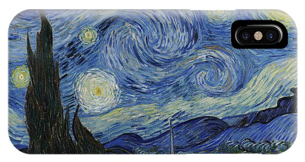 Evening iPhone Case - The Starry Night by Vincent Van Gogh