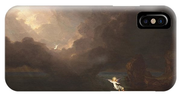 The Voyage Of Life Old Age IPhone Case