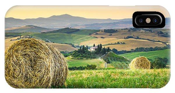 Tuscany Morning IPhone Case