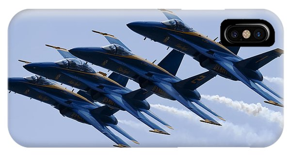 Us Navy Blue Angels Poster IPhone Case