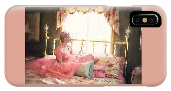 Vintage Val Bedroom Dreams IPhone Case