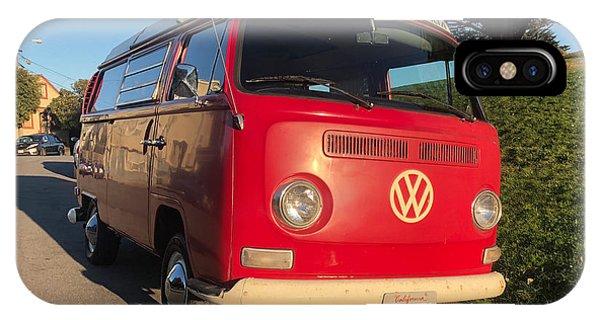 Volkswagen Bus iPhone Case - Volkswagen Bus T2 Westfalia by Mariel Mcmeeking