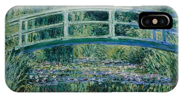 Waterlily iPhone Case - Water Lilies And Japanese Bridge by Claude Monet