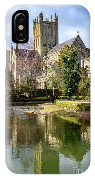 Wells Cathedral IPhone Case