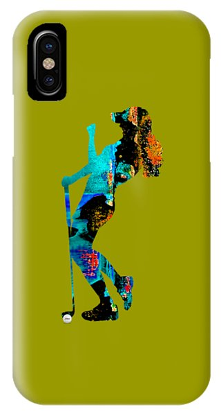 Womens Golf Collection IPhone Case