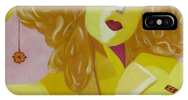 Yellow Hat IPhone Case