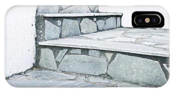 Achievement iPhone Case - Stone Steps by Tom Gowanlock