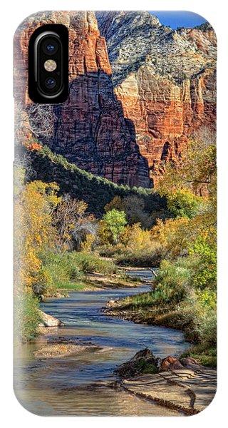 Zion National Park Utah IPhone Case