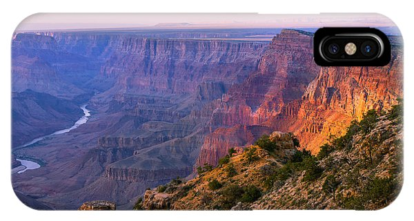 Dusk iPhone Case - Canyon Glow by Mikes Nature