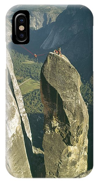 306540 Climbers On Lost Arrow 1967 IPhone Case