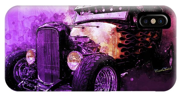 31 Ford Model A Fiery Hot Rod Classic IPhone Case