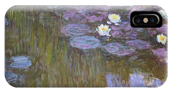 Waterlily iPhone Case - Waterlilies by Claude Monet