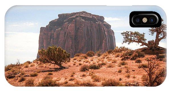 #3328 - Monument Valley, Arizona IPhone Case