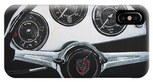 356 Porsche Dash IPhone Case