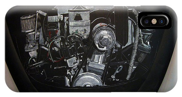 356 Porsche Engine On A Vw Cover IPhone Case
