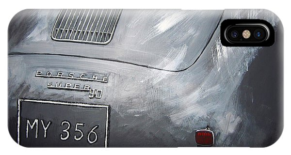 356 Porsche Rear IPhone Case