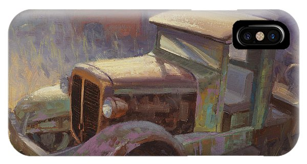Truck iPhone X Case - 36 Corbitt 4x4 by Cody DeLong
