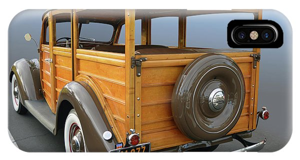 37 Ford Woody IPhone Case