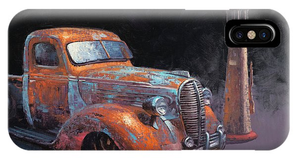 Truck iPhone Case - 38 Fat Fender Ford by Cody DeLong