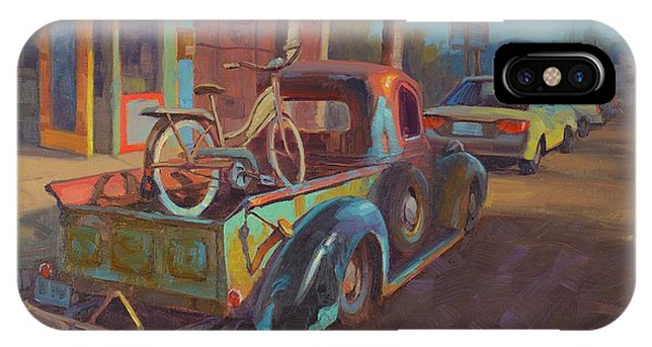 Ghost iPhone Case - 38' Ford In Jerome, Az by Cody DeLong