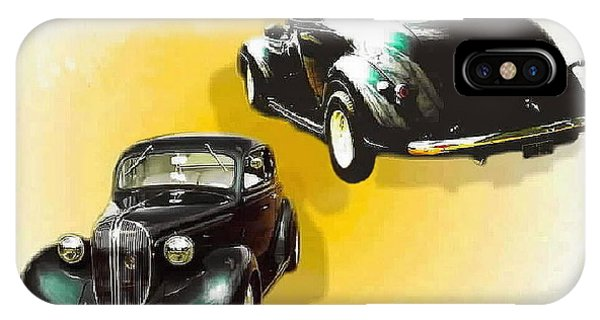 '38 Plymouth IPhone Case