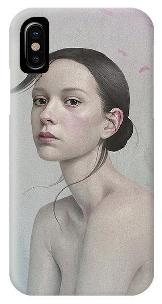 Hair iPhone Case - 380 by Diego Fernandez