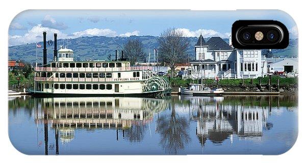 3b6380 Petaluma Queen Riverboat IPhone Case