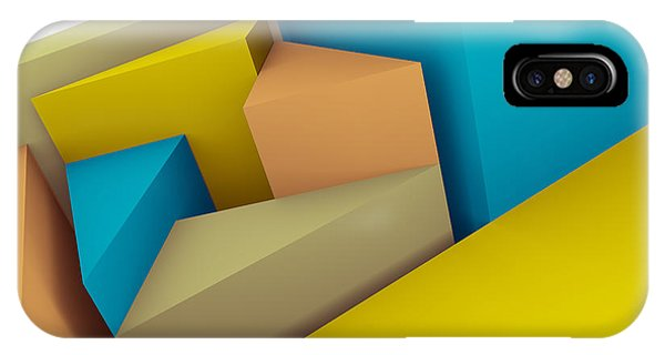 3d Abstraction  IPhone Case