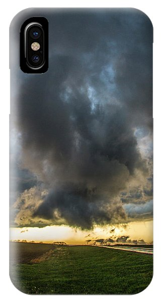 IPhone Case featuring the photograph 3rd Storm Chase Of 2018 050 by NebraskaSC