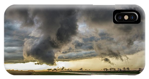 IPhone Case featuring the photograph 3rd Storm Chase Of 2018 051 by NebraskaSC
