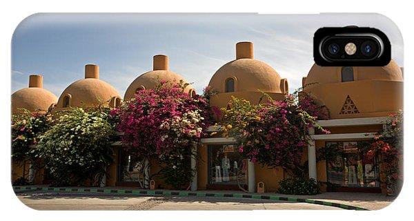 Modern Arabic Architecture In El Gouna IPhone Case