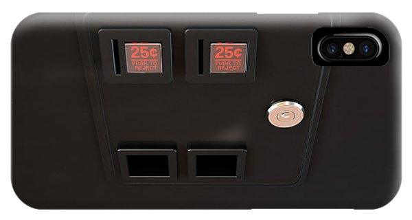Arcade Machine Coin Slot Panel IPhone Case