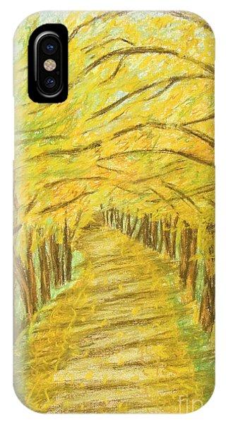 Autumn Landscape, Painting IPhone Case