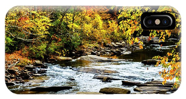 Autumn Middle Fork River IPhone Case
