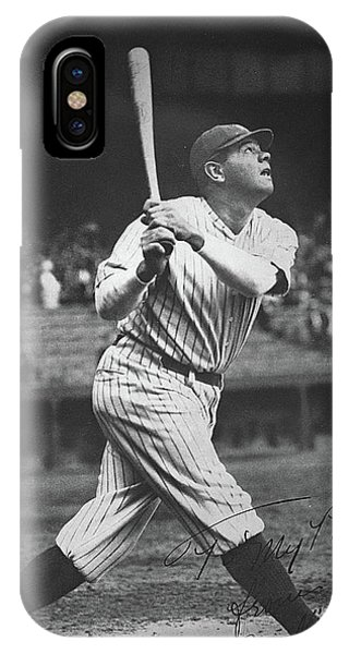 Homer iPhone Case - Babe Ruth  by American School